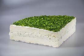 Brie gevuld met Bieslook - in Kaas