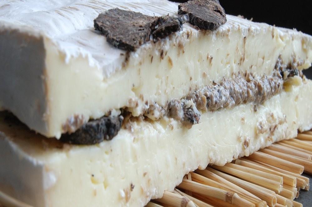 Brie met truffel - in Kaas