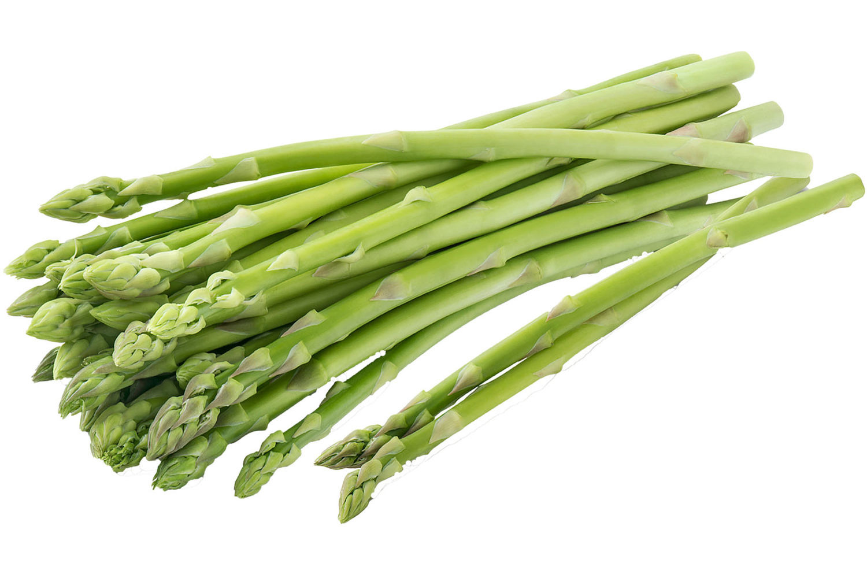 Asperge tips groen - in Groente