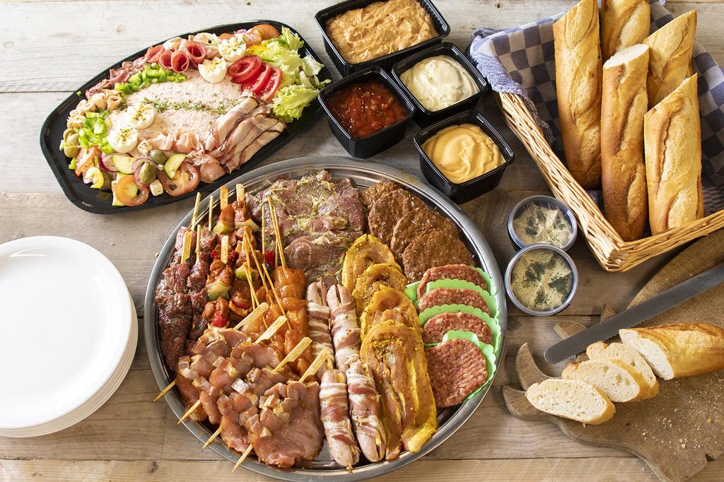 BBQ pakket de luxe 4 pers