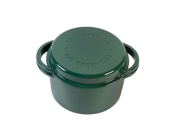 BGE Green dutch oven round