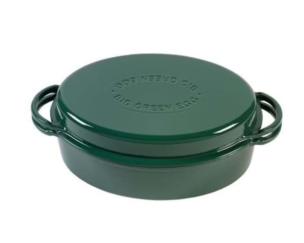 BGE Green dutch oven oval
