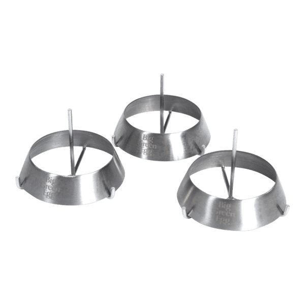 BGE Stainless steel grill rings - in Barbecues